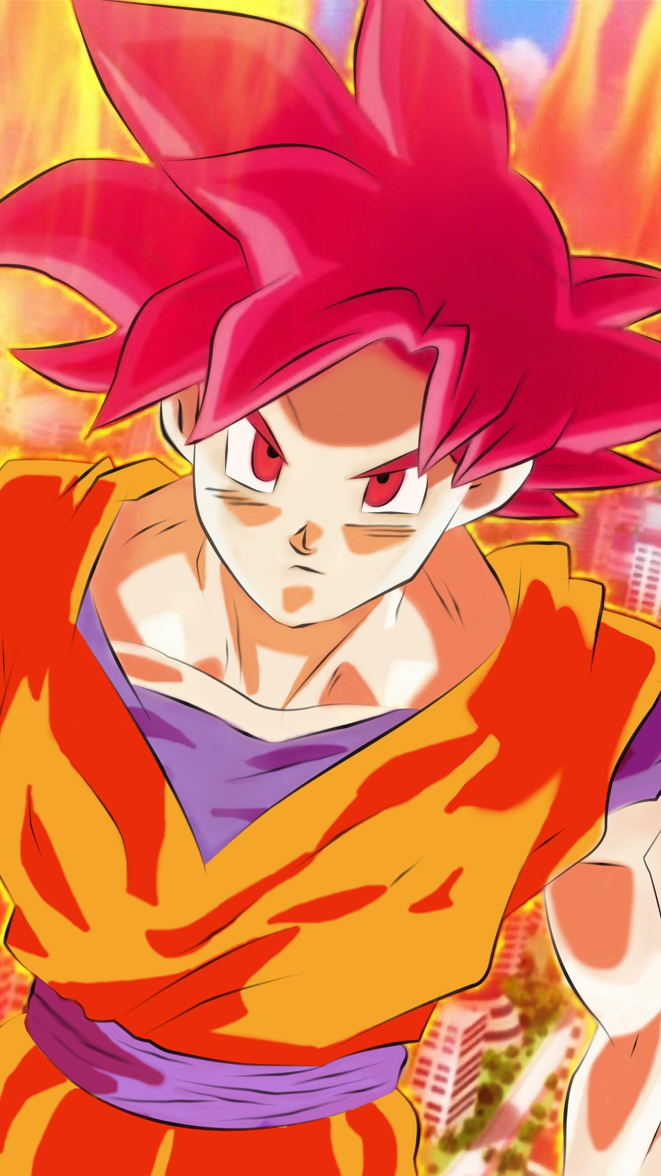 Super Saiyan God Goku Wallpaper 71+ images