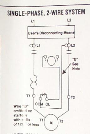 3 Phase Air Compressor Motor Starter, Compressor Wiring Diagram Single Phase