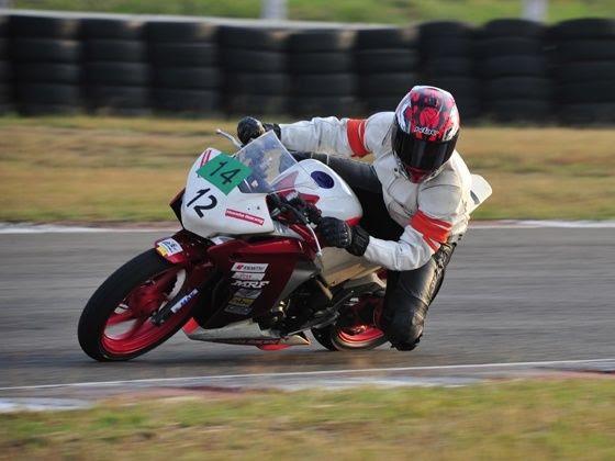 Honda Race CBR 250R  cornering shot