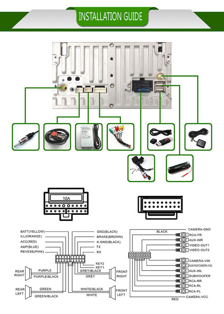 car dvd wiring diagram