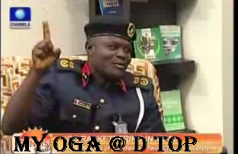Oga At The Top Crooner Spotted With NNPC GMD
