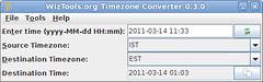 WizTools.org Timezone Converter 0.3.0