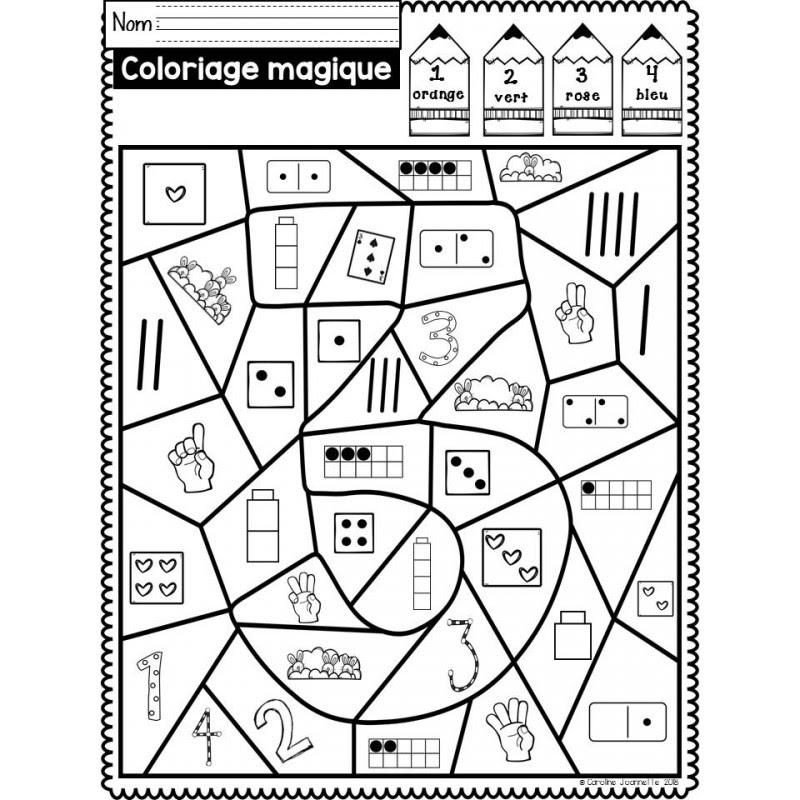 Coloriage Magique Cm1 Nombres Décimaux Coloriage204 Coloriage
