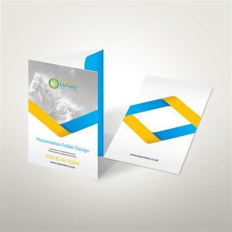 Interlocking Folders   Presentation Folders   ez printers