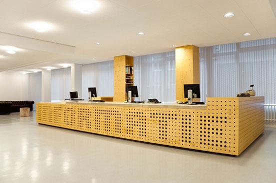 Library Interior Design in University of Amsterdam | Founterior