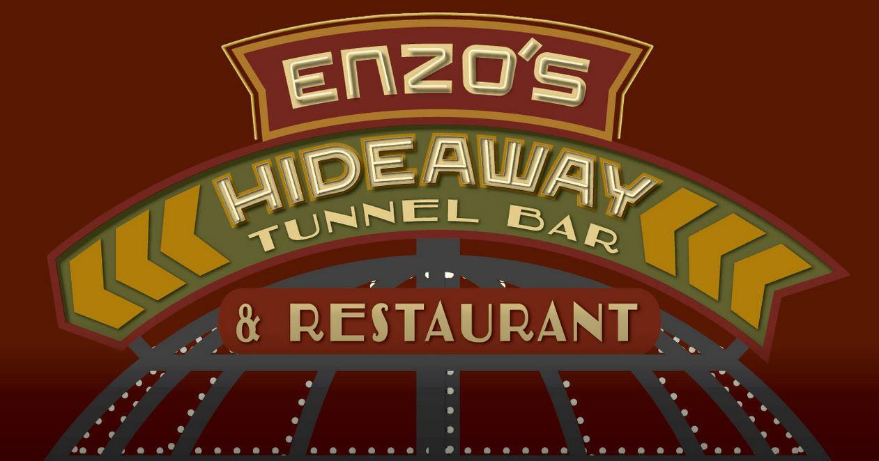 Enzos Hideaway Tunnel Bar At Walt Disney World Menus