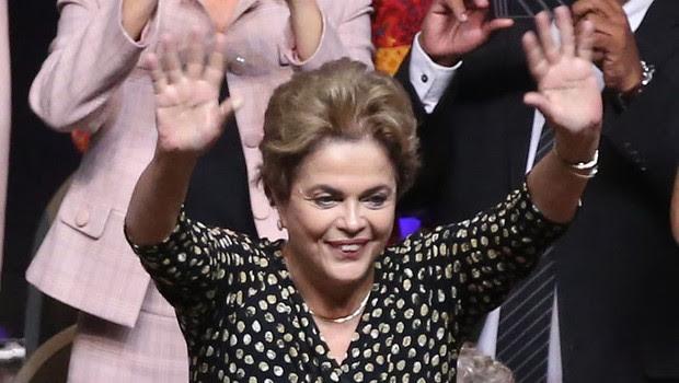 A presidente Dilma Rousseff abre a 4ª Conferência Nacional de Políticas para Mulheres (Foto: Roberto Stuckert Filho/PR)