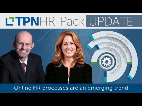 Online HR processes are an emerging trend