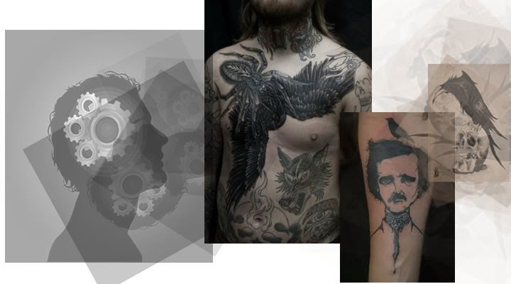 Significado De Los Tatuajes De Cuervos Tatuajes De Animales
