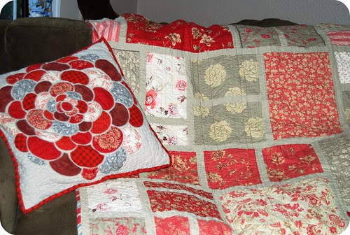 new quilt with its mate