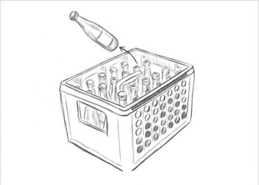Caja De Cervezas Para Pintar Y Colorear Colorear Dibujos Varios