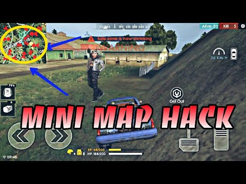 FREE FIRE 1.17.4 MINIMAP HACK SEE ENIMES LOCATION