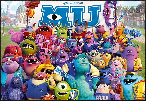O Filme da Semana: Monsters University [2013]