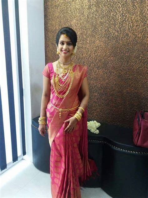 Pin by Sruthi Baiju on South Indian Bride in 2019   Saree