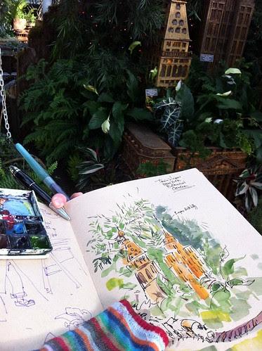 Train Show New York Botanical Garden by apple-pine