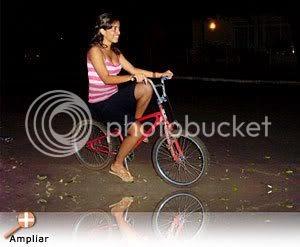 Grazi, a ciclista fantasma