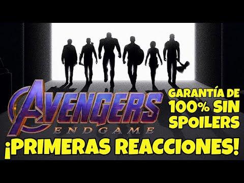 "100% sin Spoilers: Las primeras críticas de Avengers Endgame son alucinantes: ""Obra Maestra"""