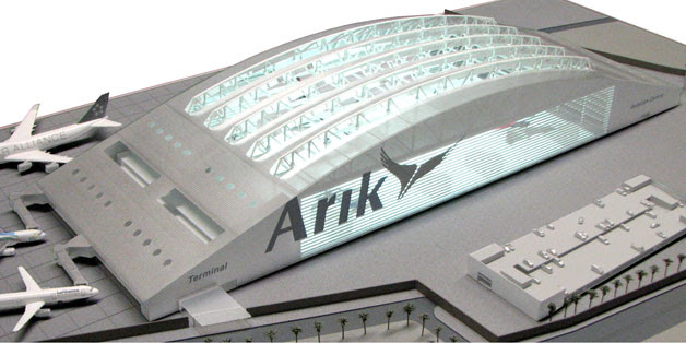 Arik Air's planned Hangar in Lagos