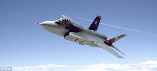 Working together: The British JSF aircraft may fly with French forces as part of the deal