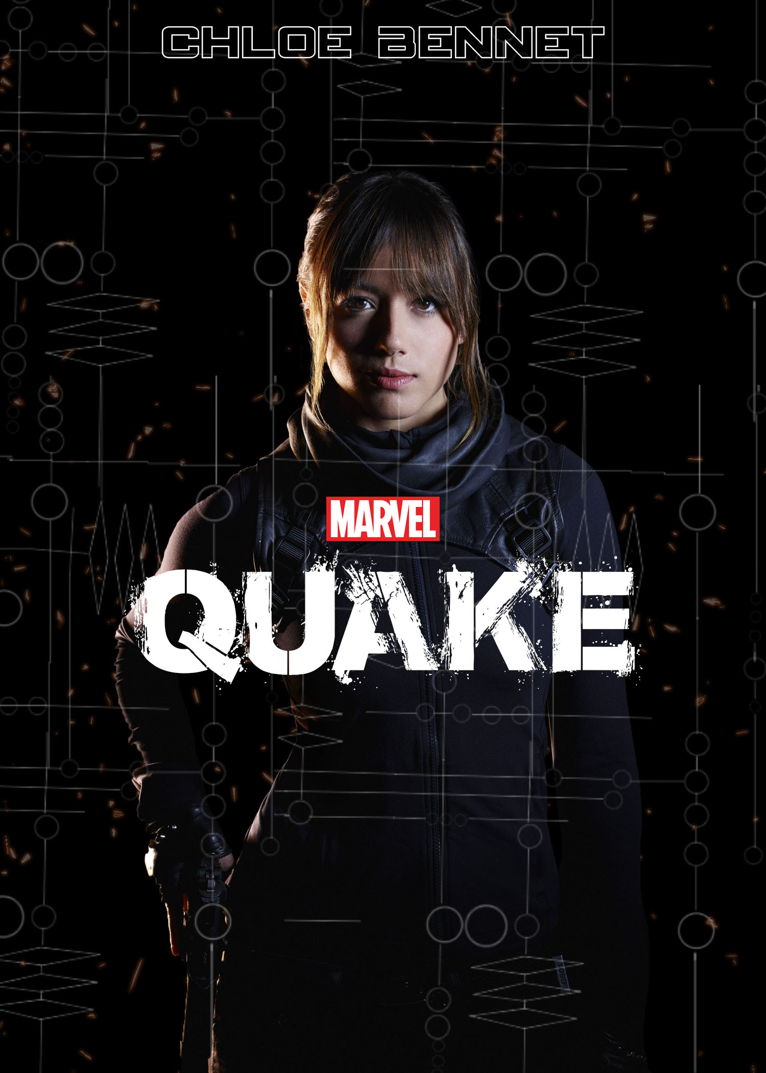Quake Fake Movie Poster Skye Agents Of S H I E L D Fan Art