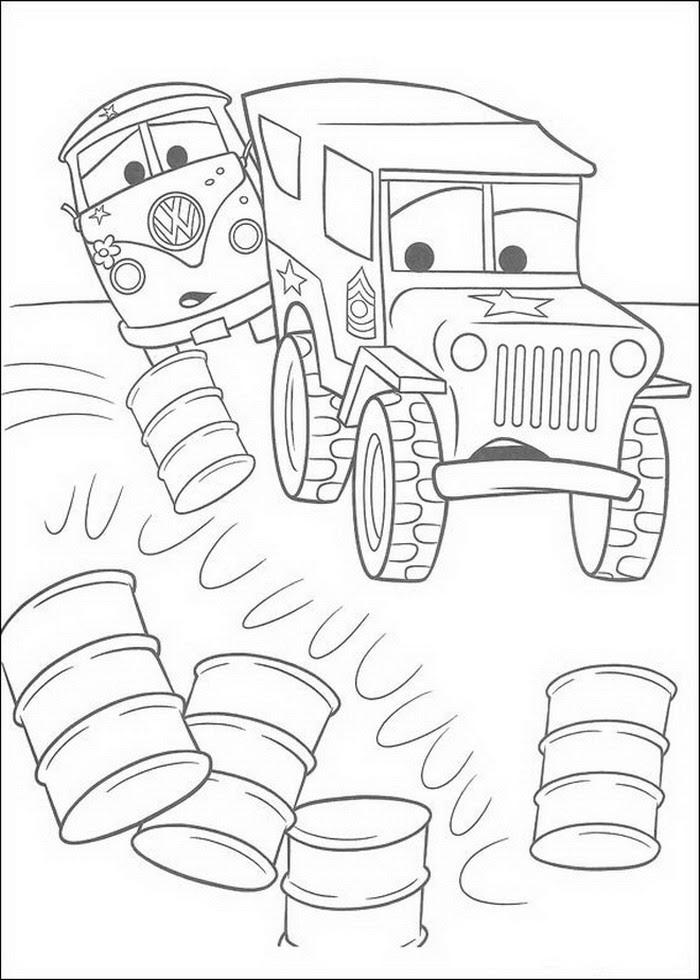 Cars Coloring Pages  Coloringpages1001.com