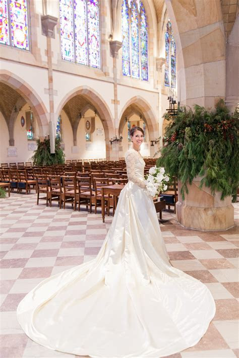 Sewanee Tennessee Wedding at All Saints' Chapel and