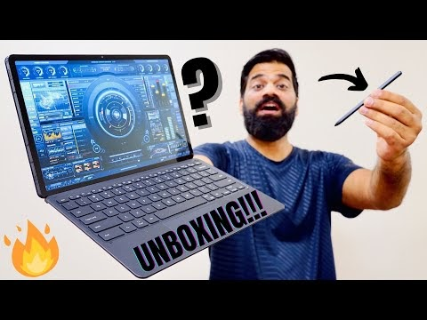My New Computer Is Really Crazy - Galaxy Tab S7+ Unboxing & First Look🔥🔥🔥