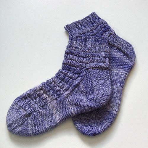 socks for Mom!