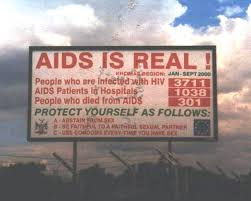 AIDS is Real Billboard