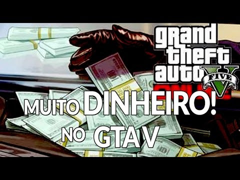 Como ganhar muito dinheiro no GTA V Online! Solo sem glitch, método legal!