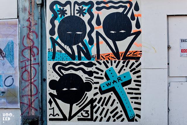 Sweet Toof & Paul Insect London Street Art paste-ups