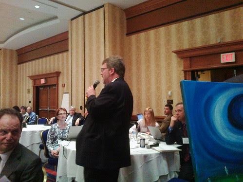 Paul McGann speaking
