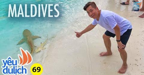 YDL #69: Chơi với cá mập ở Maldives | Yêu Máy Bay