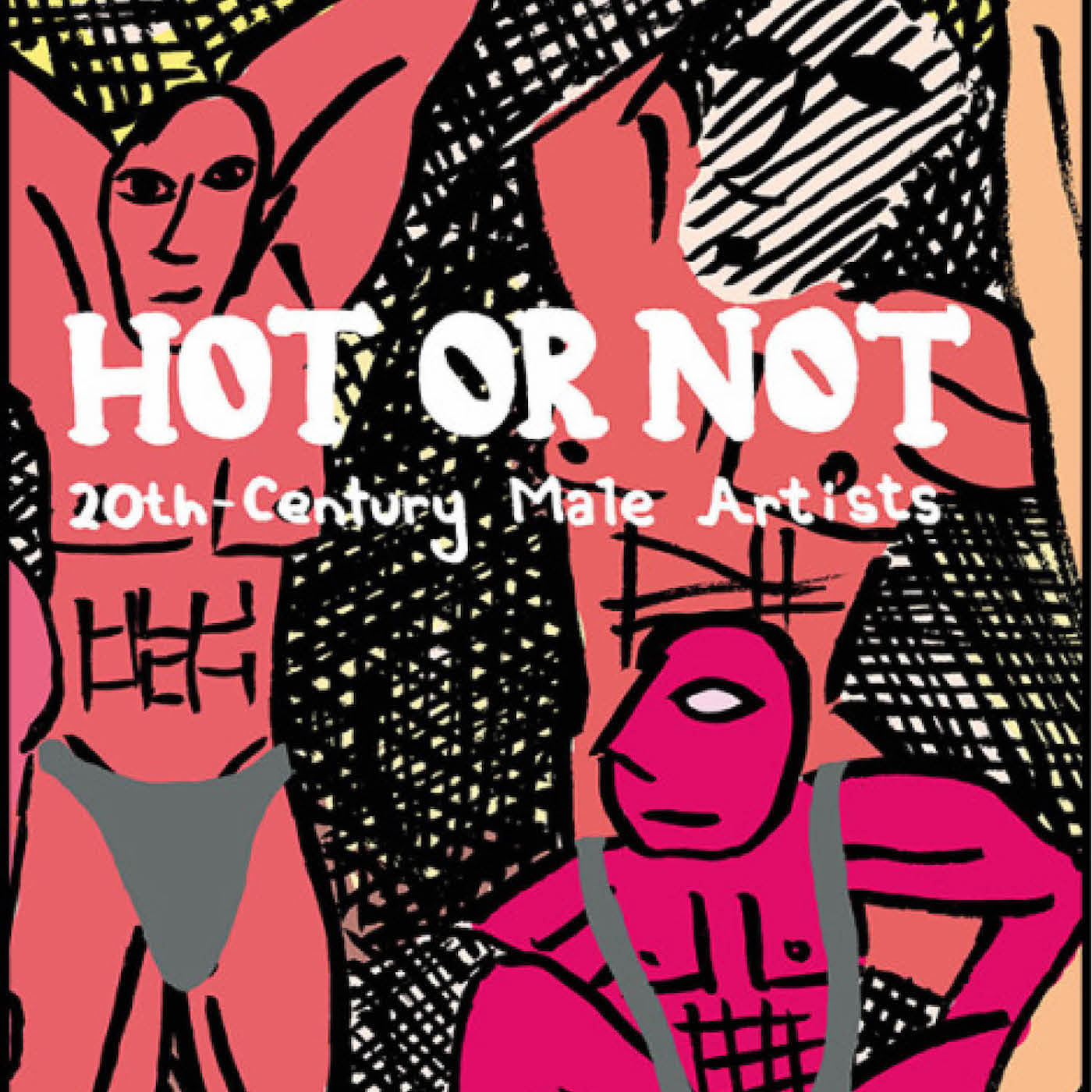 Detail of the cover of Jessica Campbell's <em>Hot or Not: 20th Century Male Artists</em> (courtesy the artist and Koyama Press)