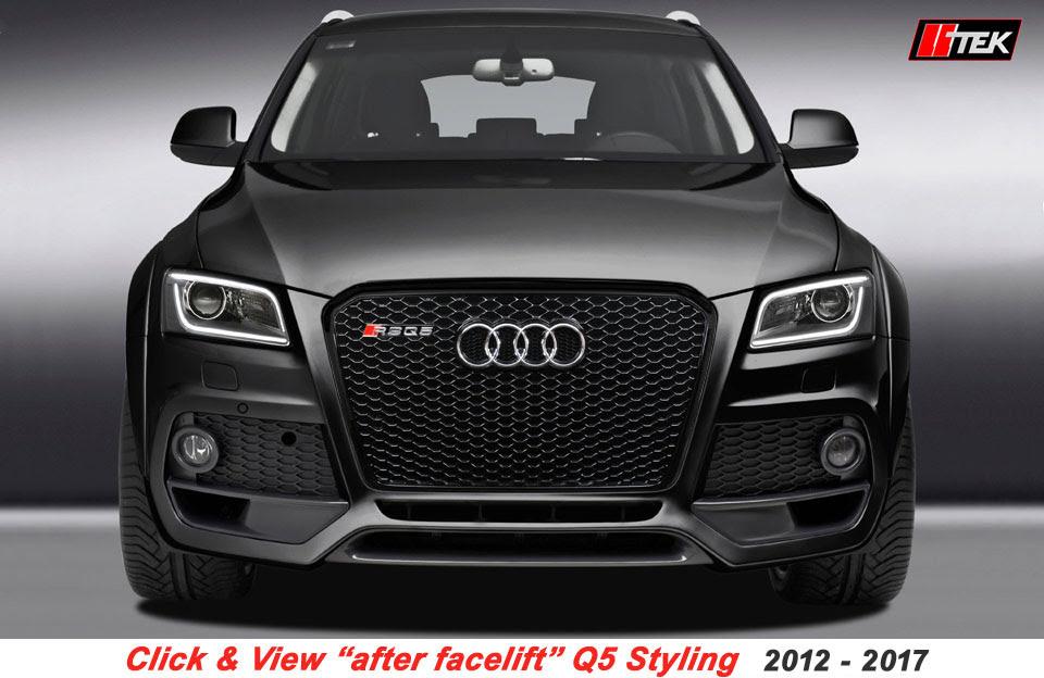 2014 Audi Q5 Body Kit
