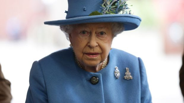 Britain's Queen Elizabeth in Hyde Park, London on October 24th, 2017. Photograph: Yui Mok/WPA Pool/Get   ty