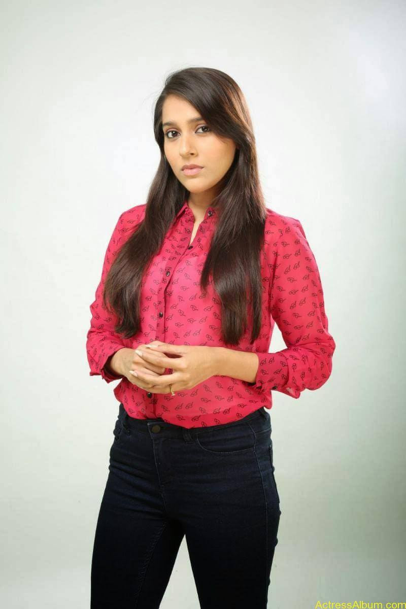 Rashmi Gautam Hot pink dress 2