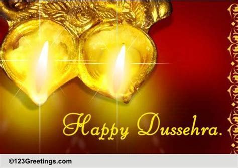 Wish Your Friend On Dussehra. Free Friends eCards