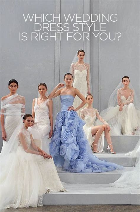 Want to know which wedding dress style is right for you