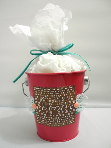 Be Brave Gift Pail