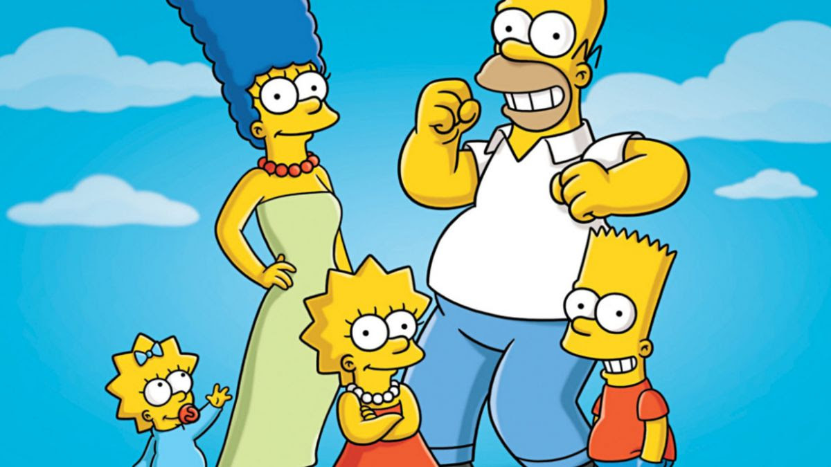 A 31 Años De Los Primeros Diseños De Los Simpsons Tele 13