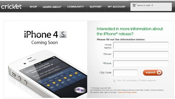 Cricket now offers the iPhone with $55 'unlimited' everything plan