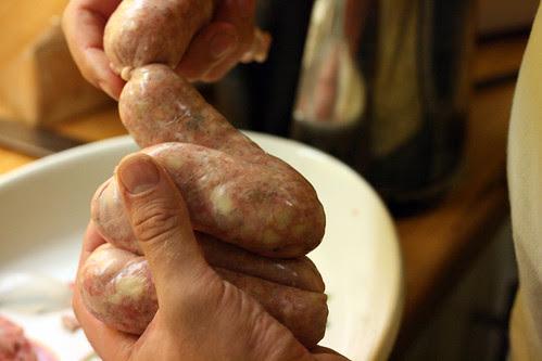 Sausage ties