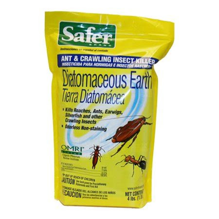 safer brand diatomaceous earth bed bug ant  crawling