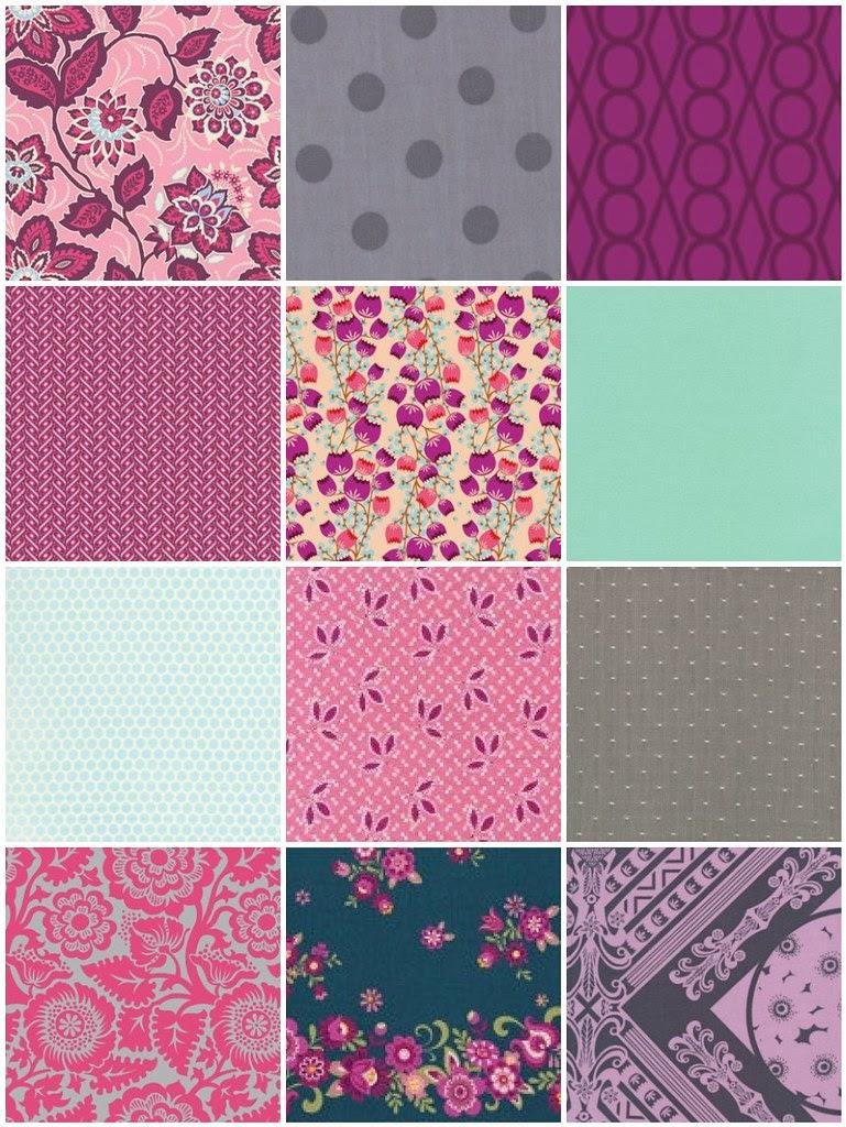 Fabrics mish mash x Katy & Pink Castle's Contest