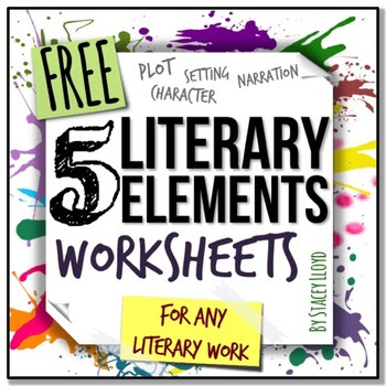 Literary Elements Graphic Organizer Printable Wwwpicswecom