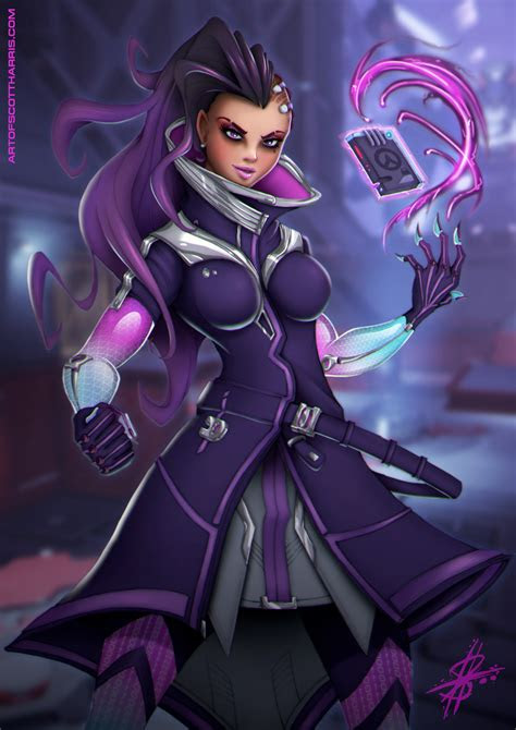overwatch sombra sexy fan art anime cosplaygame