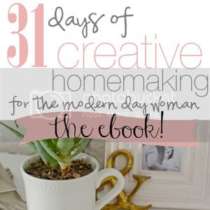 31 Days of Creative Homemaking