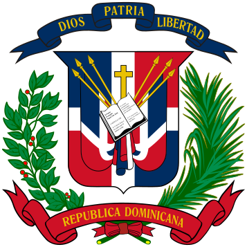 Archivo:Coat of arms of the Dominican Republic.svg