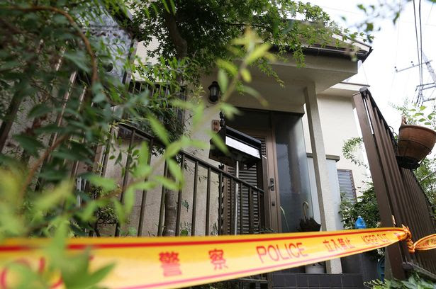 The house of suspect Satoshi Uematsu in Sagamihara, Japan. A man who claimed he wanted to kill disabled people left at least 19 dead and 26 others injured after a knife attack at a care facility